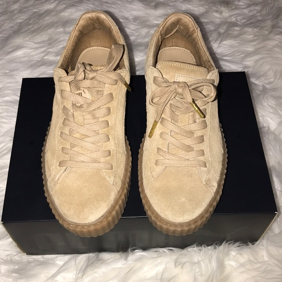 info for fb330 11682 Puma Fenty by Rihanna Suede Creepers 8.5